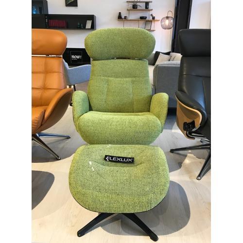 Flexlux ELEGANT Design Fotel lábtartóval - Bemutatótermi bútor-0