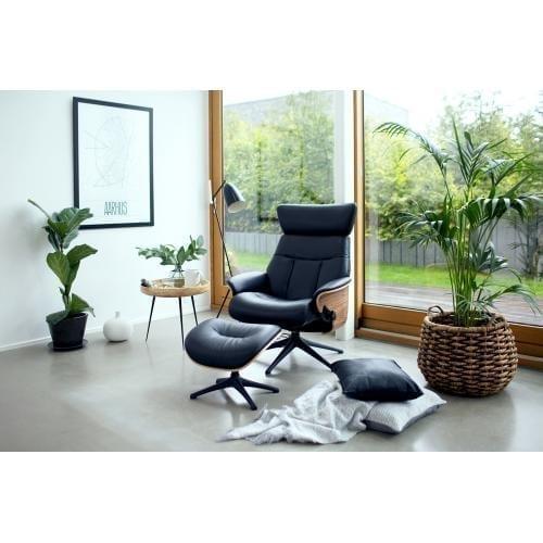 Flexlux TREND Design Armchair with footrest - Showroom furniture-17623