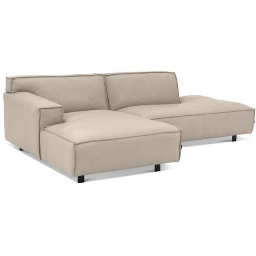 VESTA 2½ személyes kanapé lounger nyitott véggel-17125