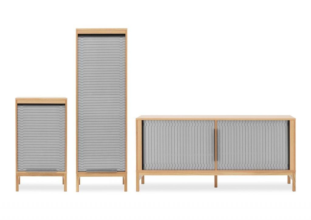 JALOUSI Alacsony szekrény-16689