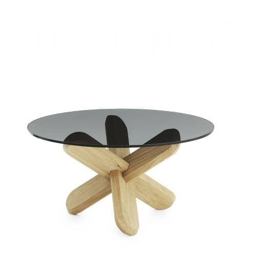 Ding Table Smoked Glass-16815