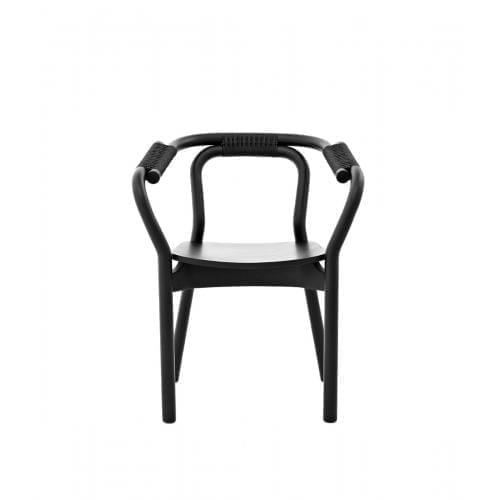 KNOT szék - fekete/fekete-0