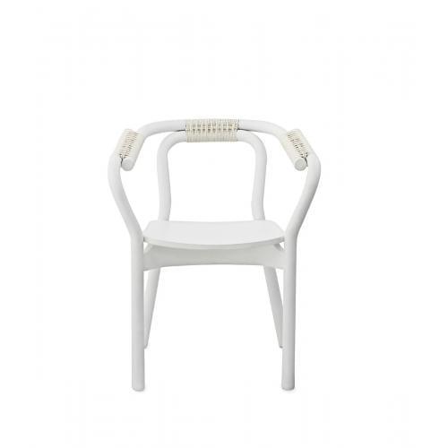 KNOT szék - fehér/fehér-0