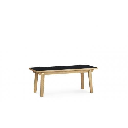 SLICE Dohányzóasztal - Linoleum - 42x100 cm -0