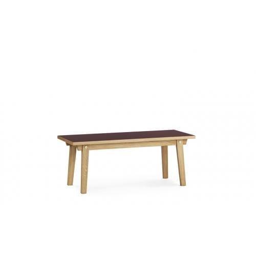 SLICE Dohányzóasztal – Linoleum – 42×100 cm -16579