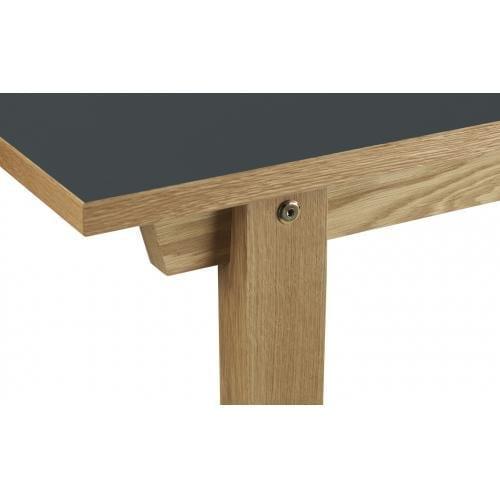 SLICE Dohányzóasztal – Linoleum – 42×100 cm -16582