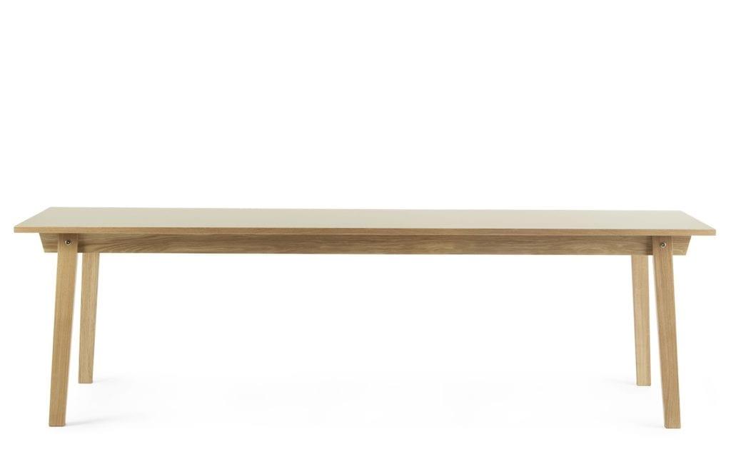 SLICE Asztal - Linoleum - 90x250 cm-16477