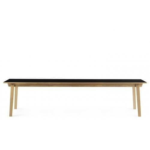 SLICE Asztal - Linoleum - 90x300 cm-0