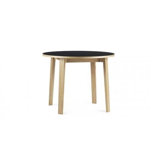 SLICE Körasztal - Linoleum - Ø95 cm-0
