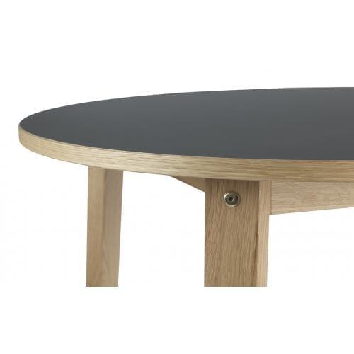 SLICE Körasztal – Linoleum – Ø95 cm-16505
