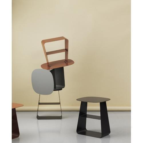 STAY Asztal – 40×52 – Fekete-16775