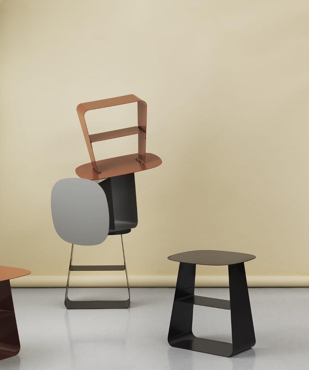 STAY Asztal - 40x52 - Fekete-16775