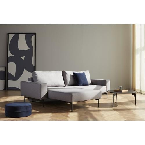 BRAGI Sofa with side table - 140x200-21815