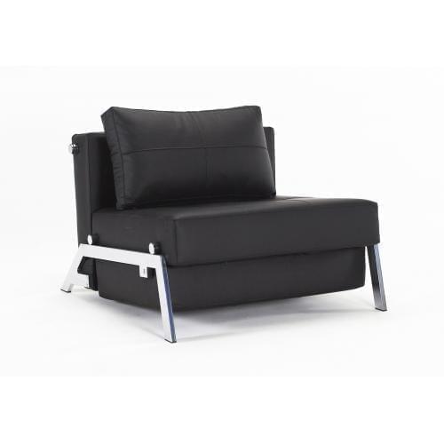 CUBED 02 Kompakt fotelágy, 90-200, króm-21550