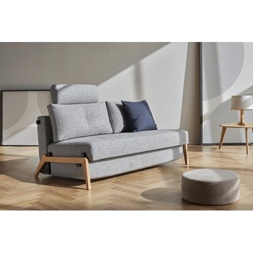 CUBED 02 Kompakt kanapéágy, 140-200, fa-0