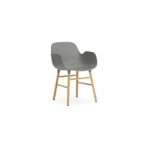 FORM Karfás szék - műanyag/tölgy-0