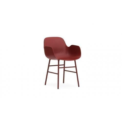FORM Karfás szék - műanyag/acél-0