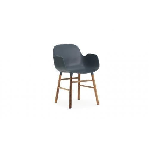 FORM Karfás szék - műanyag/dió-0