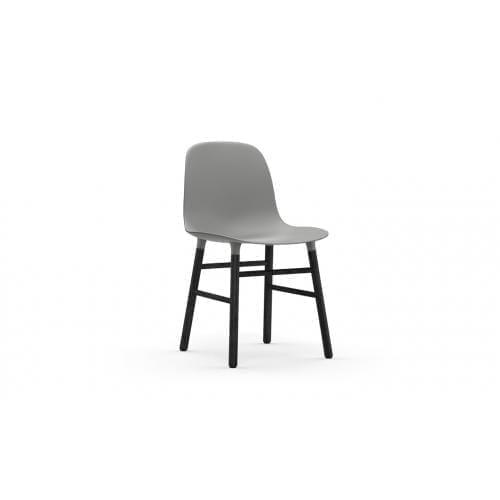 FORM Szék - műanyag/fekete tölgy-0