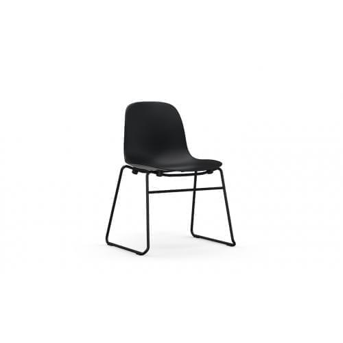 FORM Rakodható szék - műanyag/acél-0