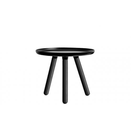 TABLO Kicsi dohányzóasztal - Festett kőris lábakkal-0