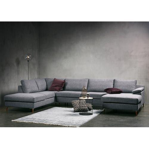 FRISCO 5 seater corner sofa with chaise longue and open end-0