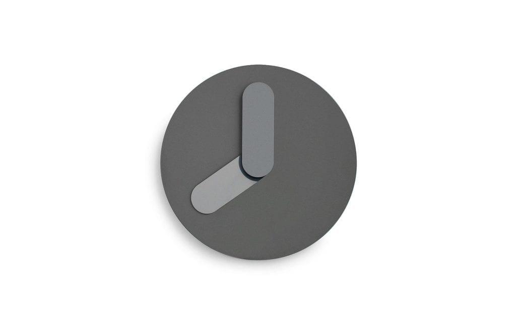 BOLD Wall Clock-Grey-0