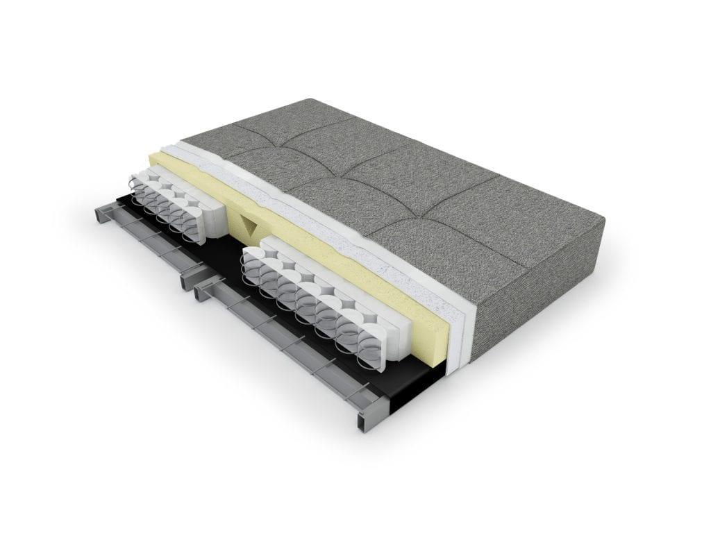 MIMER SOFTSPRNG Multifunkcionális kanapéágy-21910
