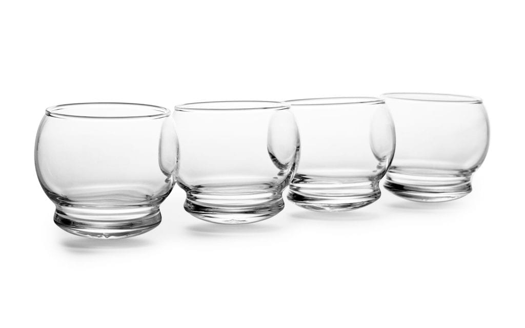 ROCKING Glass - 4 pcs, 25 cl-22472