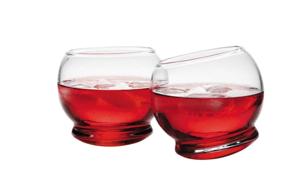ROCKING Glass - 4 pcs, 25 cl-22474