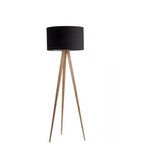 TRIPOD Floor lamp - Wood-0
