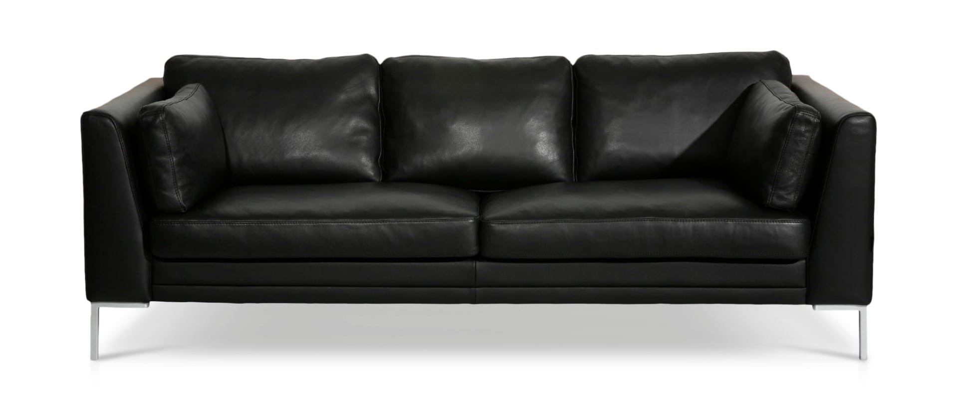 Superb Avignon 3 Seater Leather Sofa Home Interior And Landscaping Ponolsignezvosmurscom