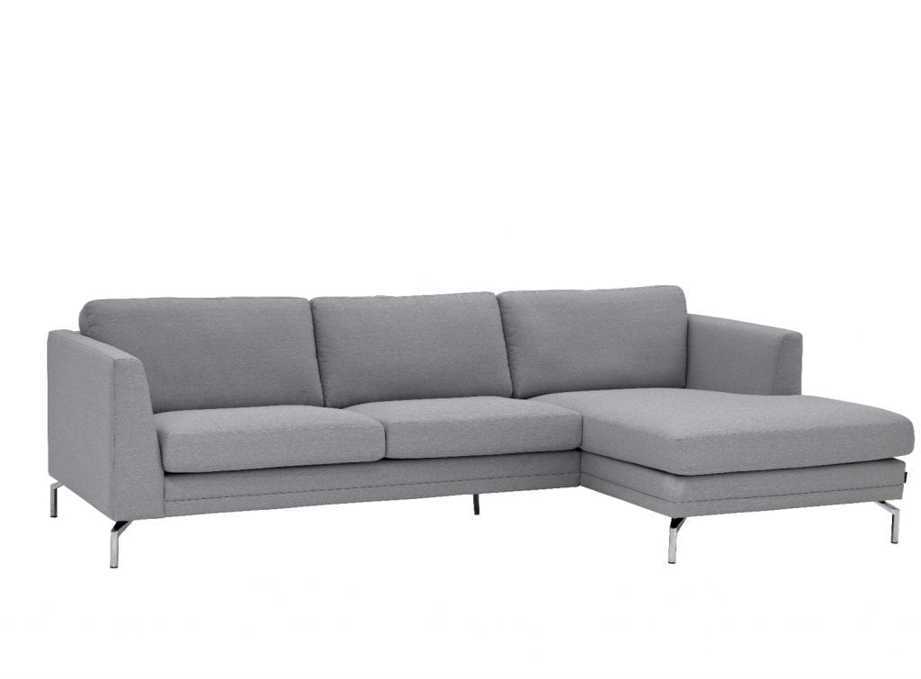 BROADWAY 2.5 seater sofa with chaise longue-24386