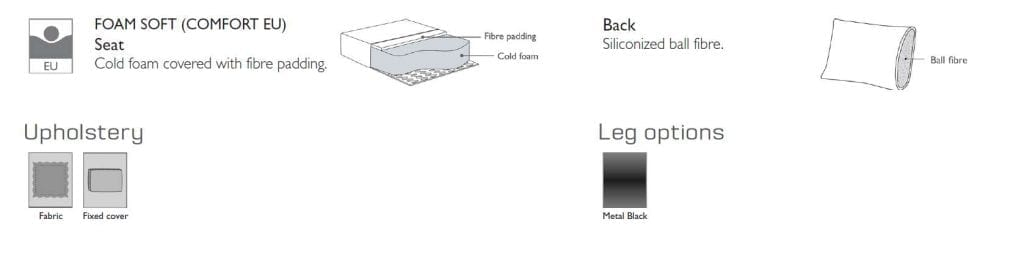 STORM 3 személyes moduláris kanapé pihenőrésszel-24354