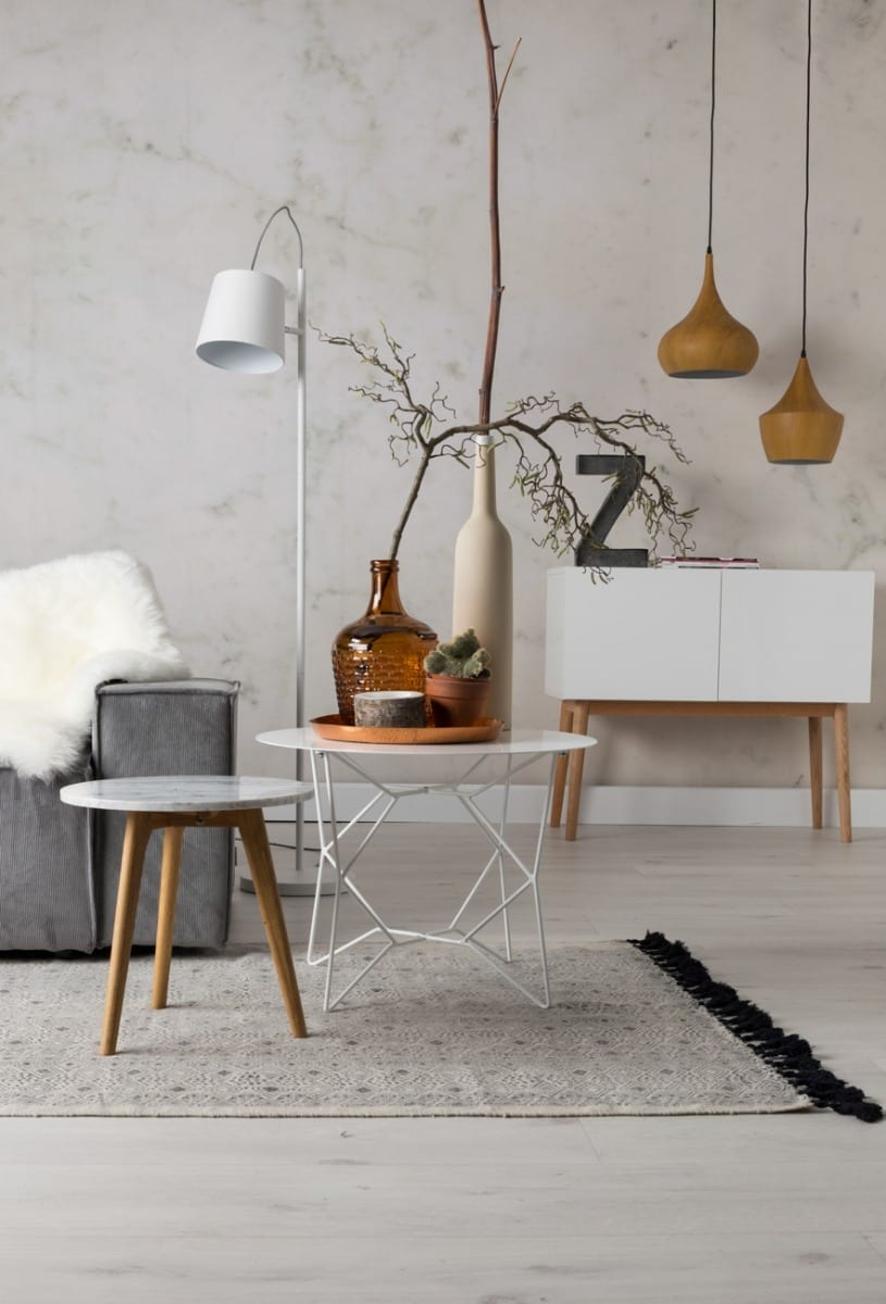 WHITE STONE Side table-23771
