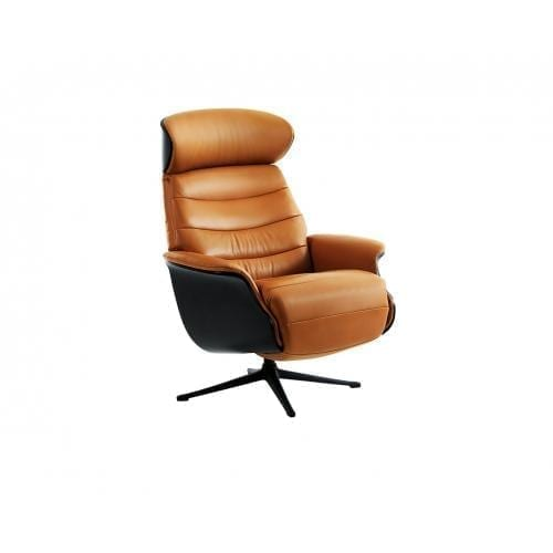 Flexlux EASE MARINA Design chair with wooden shell-24704