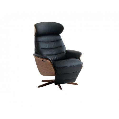Flexlux EASE NAVIS Design chair with wooden shell-24682