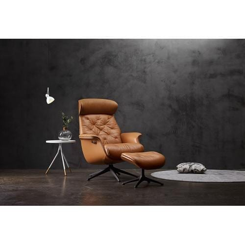 Flexlux EASE VOLDEN Design chair with upholstered shell-0