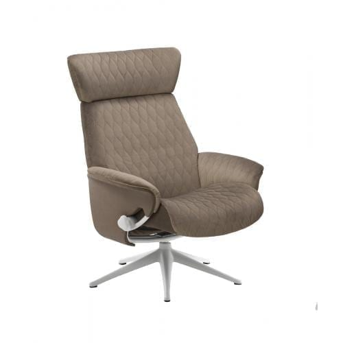 Flexlux SENSE COVE Design chair with wooden shell-24790