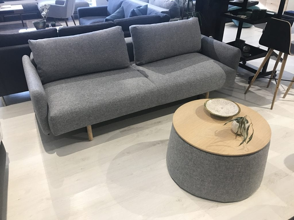 FRODE 2 személyes kanapéágy - Bemutatótermi bútor-25695