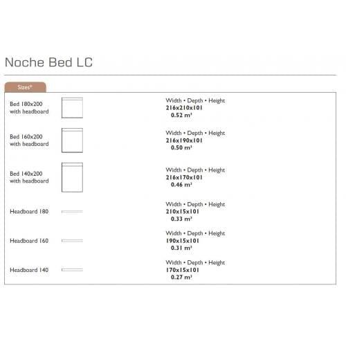 NOCHE Ágy fejvég-27252