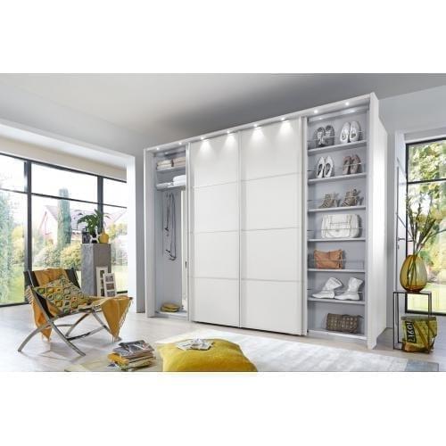 MULTIPLUS_2220_16_Weiß-D._begehbarer Kleiderschrank 300cm_außen geoeffnet-wardrobe-gardrob-szekreny-cabinet-wiemann