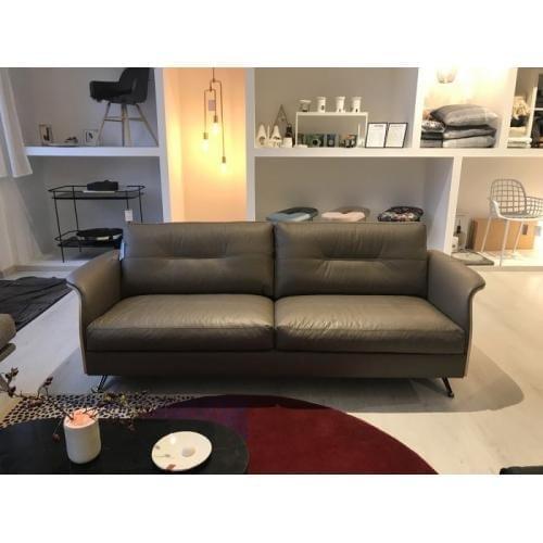 Flexlux glow leather sofa