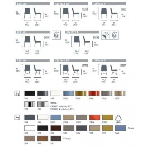 cannubia_academy_metallic_leg_dining_chair_color_variations