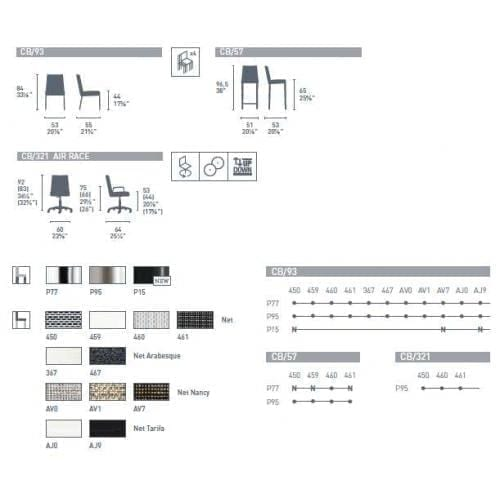 connubia_air_dining_chair_color_variations