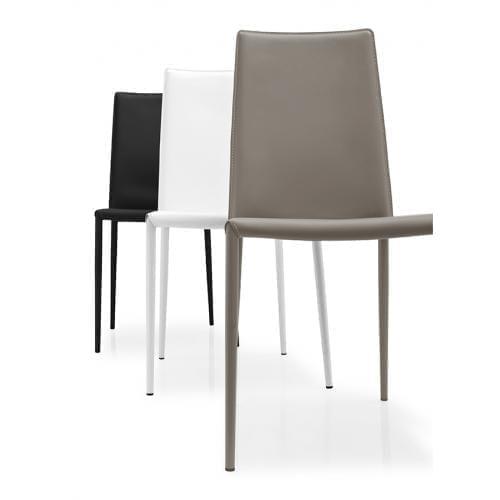 connubia_boheme_leather_dining_chair_metal_legs_1