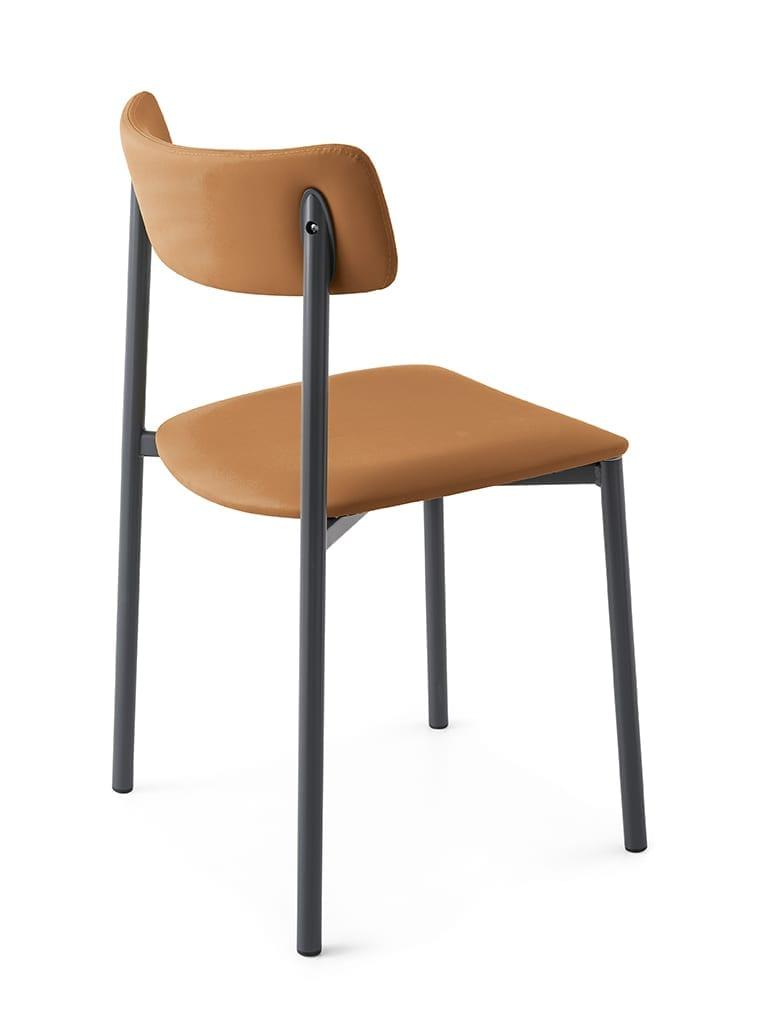 UP kárpitozott étkezőszék fém lábbal | InnoConcept Design