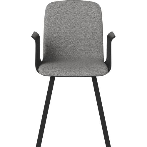 black_bolia_palm_dining_chair_armrest_upholstered_seat_innoconcept_etkezoszek_kartamasz_karpitozott