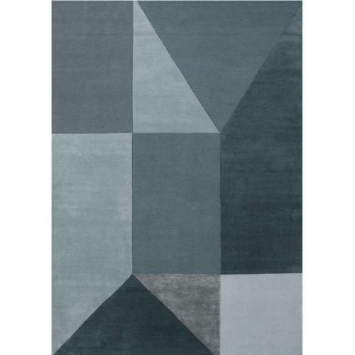 hitomi_handmade_wool_carpet_blue