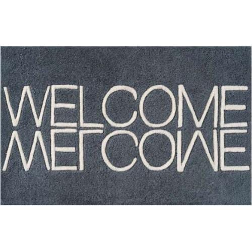 welcome_handmade_wool_doormat_blue